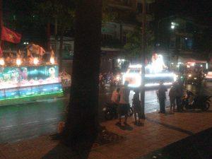 Jour de Bouddha à Hô Chi Minh Ville Vietnam