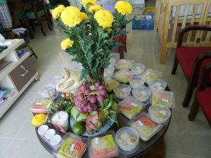 Célébrations du premier mois d'un nouveau né au Vietnam